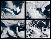 Iceberg splitting