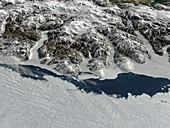 Ayles ice shelf breaking off,Canada