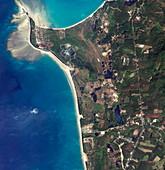 Thai coastline before 2004 tsunami