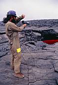 Kilauea volcano research,Hawaii