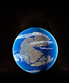 Earth at time of Pangea