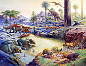 Triassic fauna