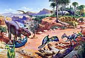 Jurassic fauna