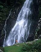 Aber Falls,Wales