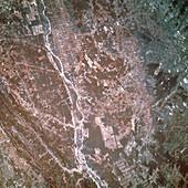 False colour IR image of Rio San Francisco,Brazil