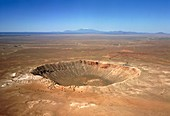 Meteor crater,Arizona