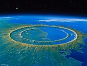 Chicxulub impact crater,Yucatan
