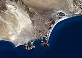 Aden,Yemem,satellite image