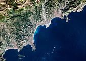 Nice,satellite image