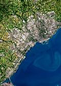 Toronto,satellite image