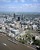 City of London,aerial photograph
