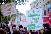 Campaign against climate change march