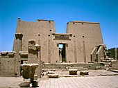 Ancient Egyptian temple at Edfu