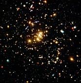 Dark matter gravitational lensing