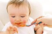 Spoon-feeding