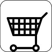 Shopping symbol,artwork