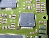 Circuit board microchip,SEM