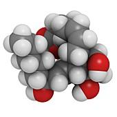 Prostaglandin F2alpha drug molecule