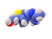 Vitamin B1 molecule