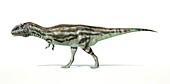 Majungasaurus dinosaur,artwork