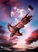 Spacecraft,artwork