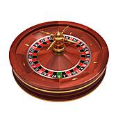 Roulette wheel,illustration