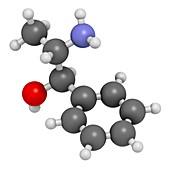 Phenylpropanolamine drug molecule