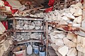 Archaeologist's storeroom
