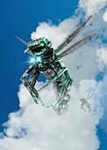 Drone,illustration