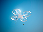 Quadcopter drone,illustration