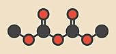 Dimethyl dicarbonate molecule