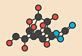 Pufferfish neurotoxin molecule