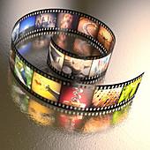 Photographic film,illustration