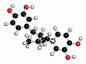 Masoprocol skin cancer drug molecule