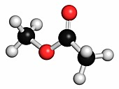 Methyl acetate solvent molecule