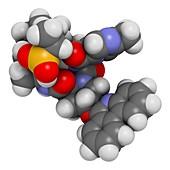 Paritaprevir hepatitis C virus drug