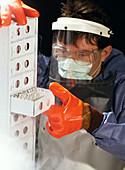 Cell culture cryostorage