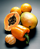 Fruits rich in zeaxanthin