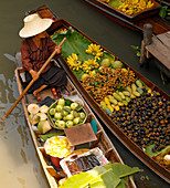 Floating market,Thailand