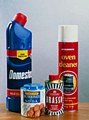 Alkaline household products