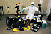 Forensic science equipment