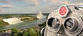 Viewing binoculars,Niagara Falla