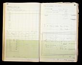 Louis Essen's notes on atomic clocks