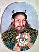 Chinese emperor Fu Hi