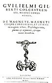Gilbert's book on magnets