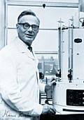 Portrait of Sir Hans Krebs