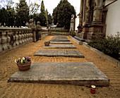 Gregor Mendel's grave
