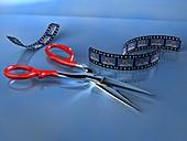 Film editing,computer artwork