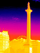 Nelson's Column,thermogram