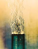 Fire,Schlieren image